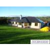 Newly-built, detached, 5-bedroom bungalow with detached garage on ca 2 acres, with river frontage onto the River Graney