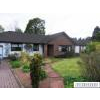 Detached bungalow in tranquil setting, 5 mins leisurely stroll to town centre