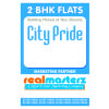 2BHK FLAT IN CITY PRIDE AMBALA ROAD,ZIRAKPUR BY real masterz
